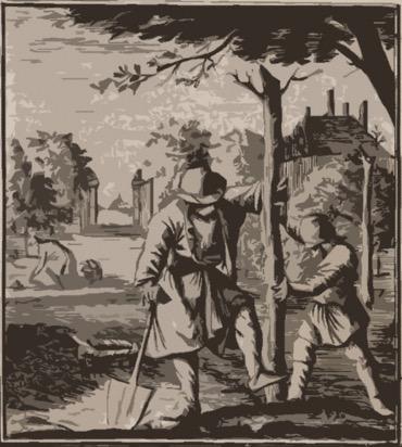 Joannes Matthee de oudst bekende voorvader was een oud-Katholieke Zuidnederlandse hovenier.